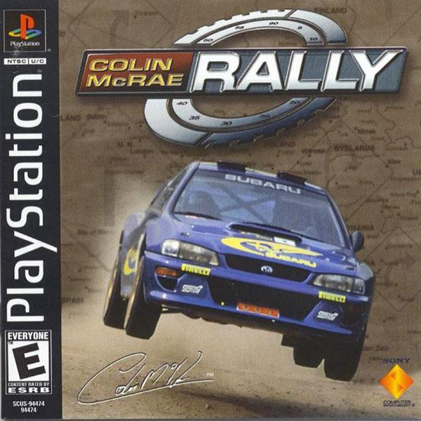 [PS] Colin McRae Rally [SCUS-94474][ENG]